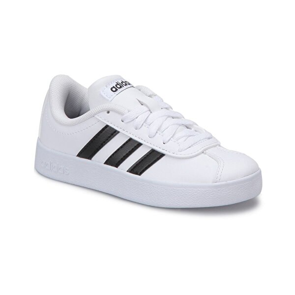 adidas VL COURT 2 Beyaz Unisex Çocuk Sneaker Ayakkabı