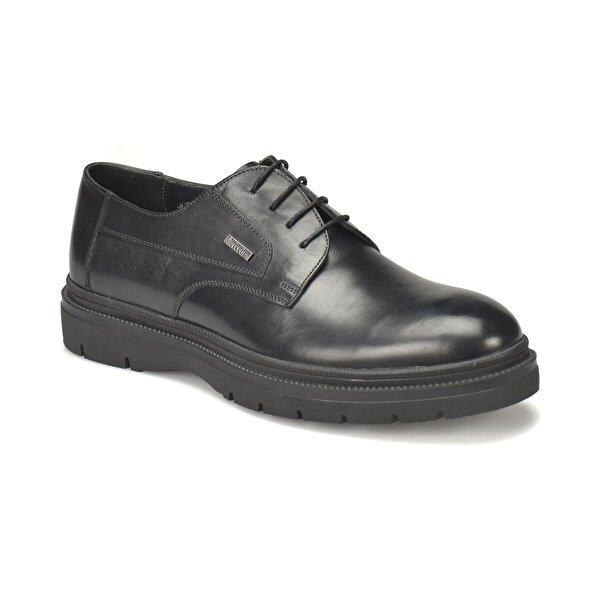 Mercedes SABATO Siyah Erkek Klasik Ayakkabı