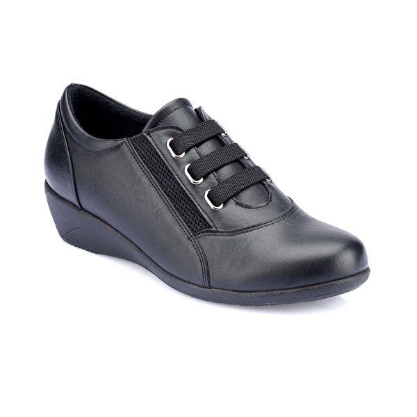 Polaris 82.150027.Z Siyah Kadın Ayakkabı