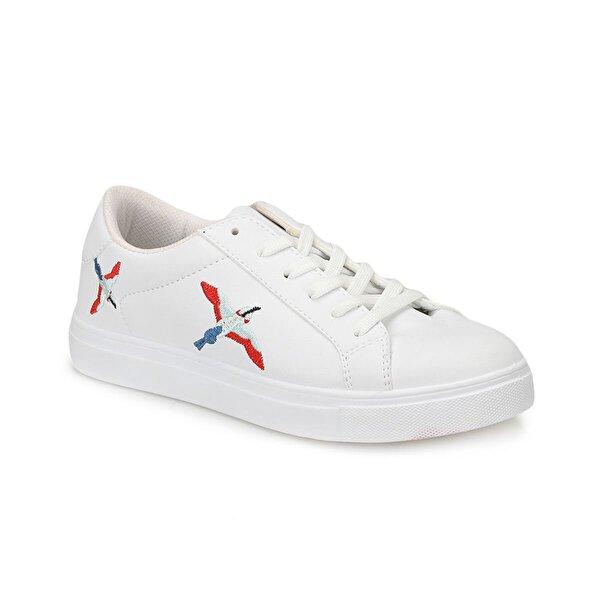 Art Bella CW18039 Beyaz Kadın Sneaker Ayakkabı