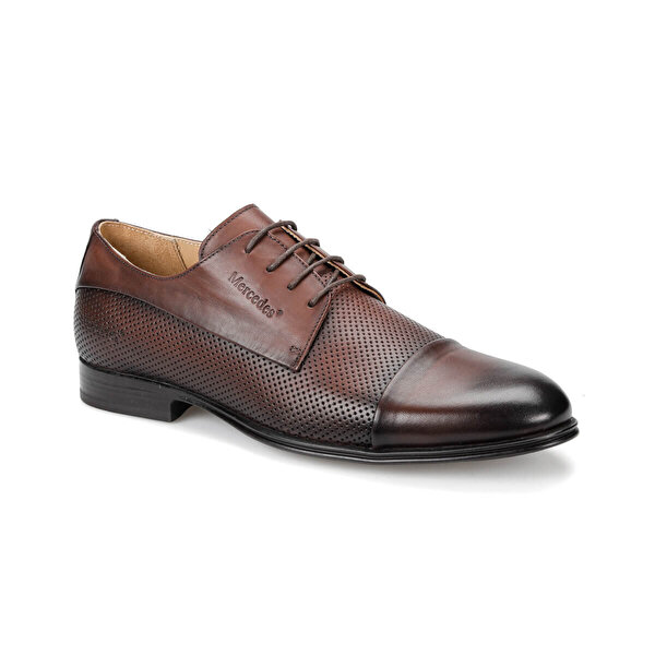Mercedes MAST Kahverengi Erkek Klasik Ayakkabı