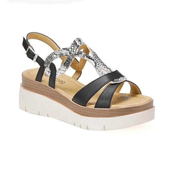 Butigo 19S-385 Siyah Kadın Sandalet