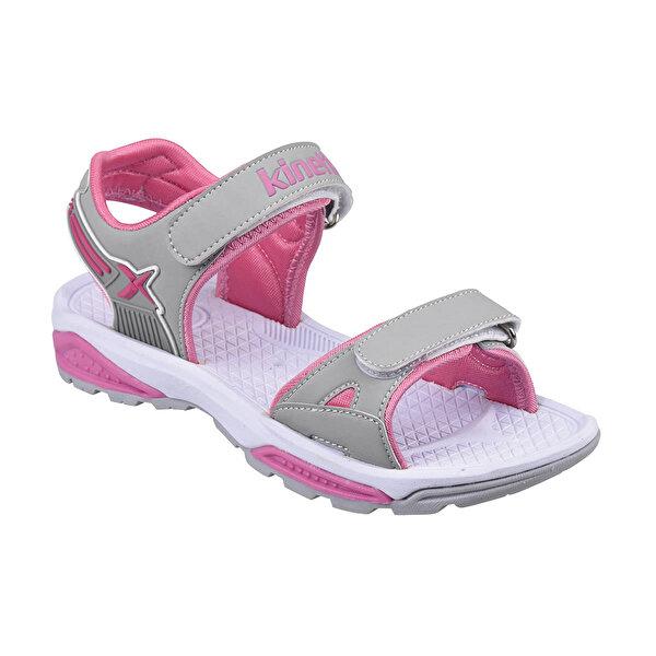 Kinetix A1291336 Gri Kız Çocuk Sandalet