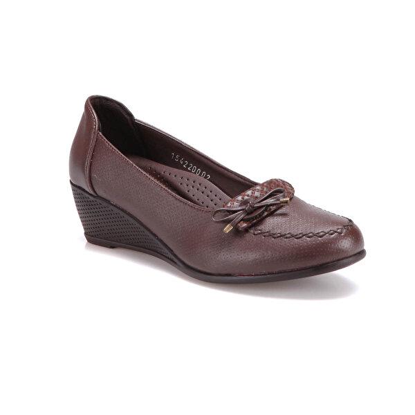 Polaris 71.154220.Z Kahverengi Kadın Klasik Ayakkabı