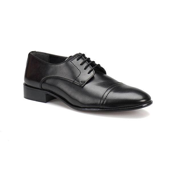 Garamond 4655 M 1602 Siyah Erkek Klasik Ayakkabı