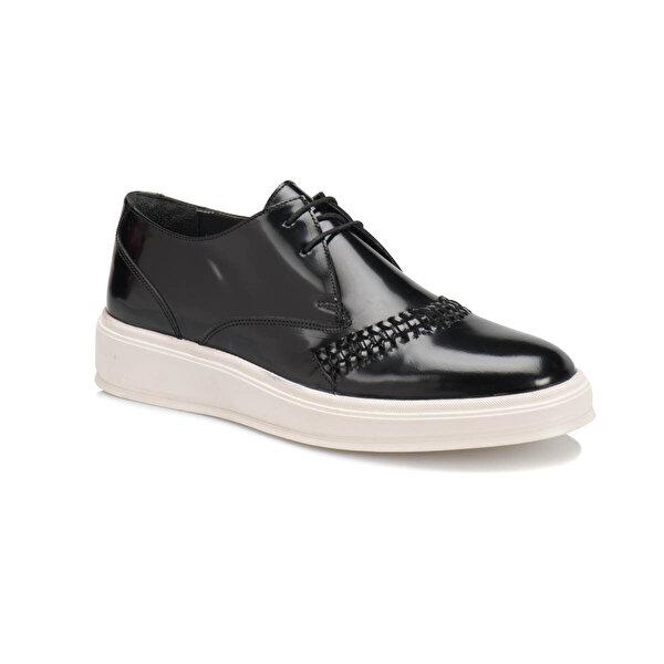 JJ-Stiller 65394 M 1506 Siyah Erkek Klasik Ayakkabı