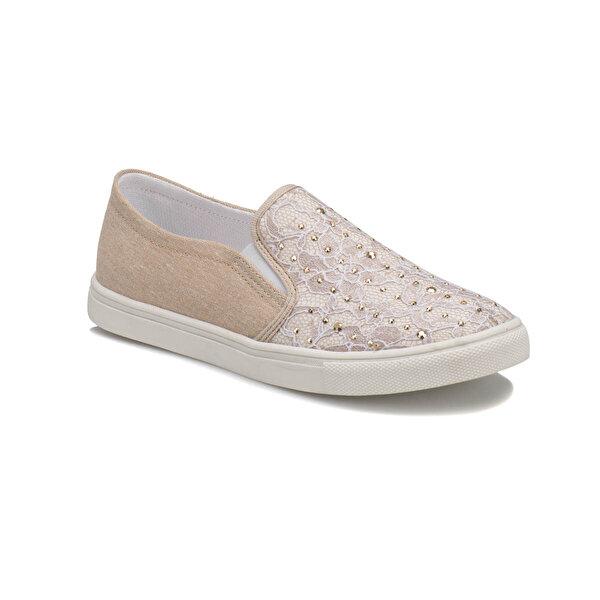 Seventeen GSVA150 Bej Kız Çocuk Slip On Ayakkabı