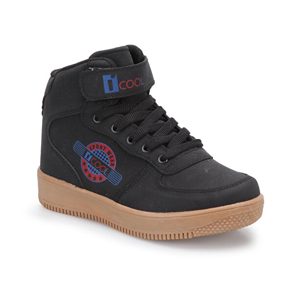 I Cool FLASH HI Siyah Erkek Çocuk Sneaker Hi