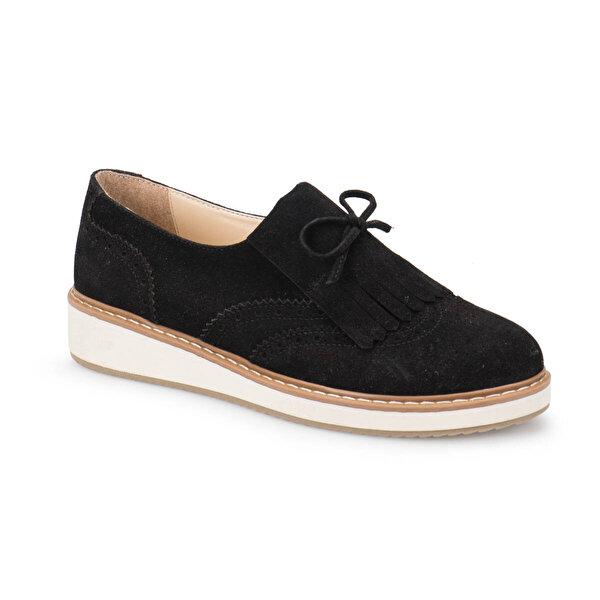 Butigo Z208 Siyah Kadın Maskulen Ayakkabı