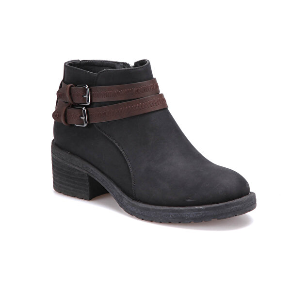 Butigo 18076K01 Siyah Kadın Topuklu Bot