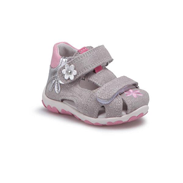Superfit 00040-16 Gümüş Kız Çocuk Sandalet