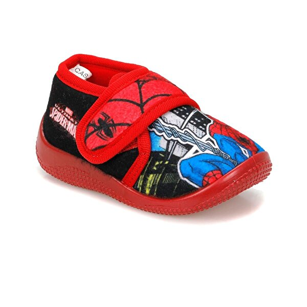 Spiderman CASA.B-1 Siyah Erkek Çocuk Panduf