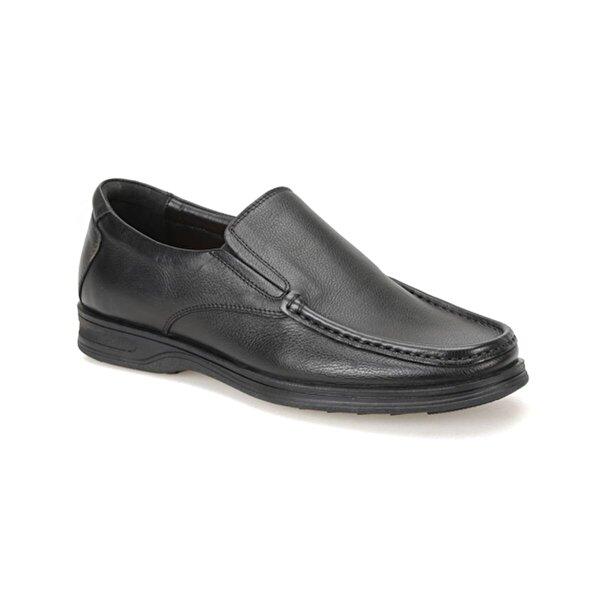 Flogart D-04169 Siyah Erkek Comfort Ayakkabı