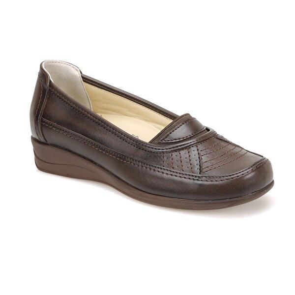 Polaris 5 Nokta 81.109609.Z Kahverengi Kadın Klasik Ayakkabı