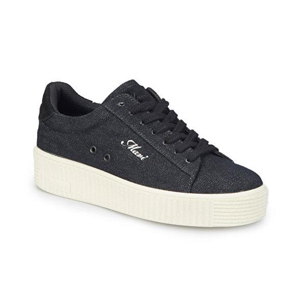 Mavi VIOLET Siyah Kadın Ayakkabı
