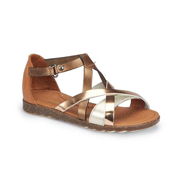 Polaris 81.510075.P Bronz Kız Çocuk Sandalet