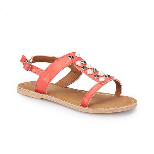 Pink Step SENUS Mercan Kız Çocuk Sandalet