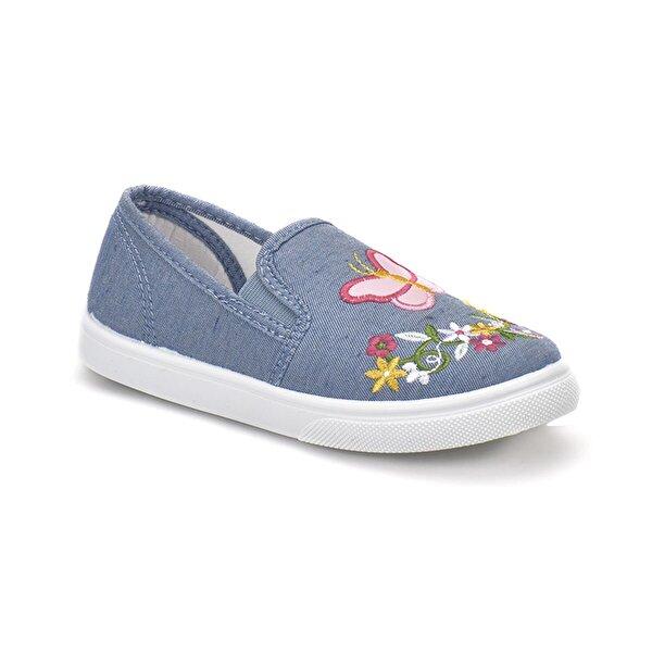 Seventeen VANESSA Mavi Kız Çocuk Slip On Ayakkabı