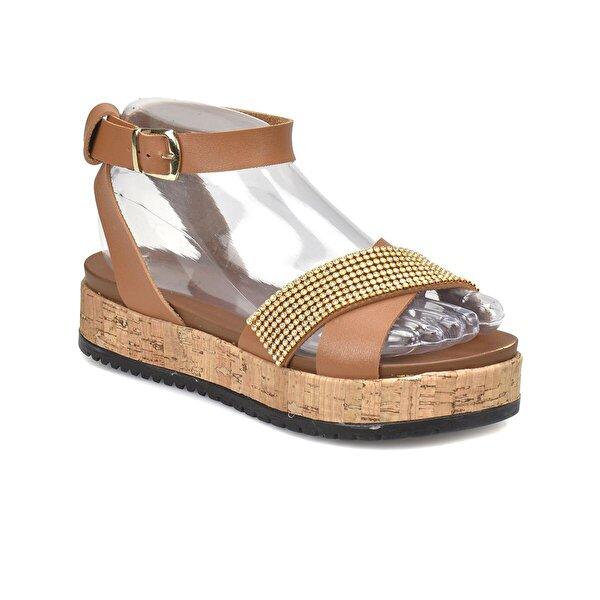 Art Bella CS18068 Taba Kadın Sandalet
