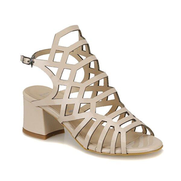 Miss F DS18082 Bej Kadın Klasik Ayakkabı
