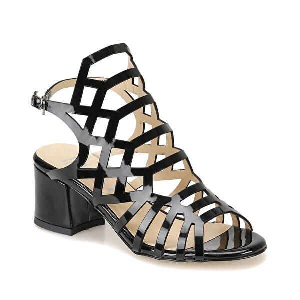 Miss F DS18082 Siyah Kadın Klasik Ayakkabı