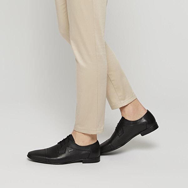 Mercedes CALARCA Siyah Erkek Klasik Ayakkabı
