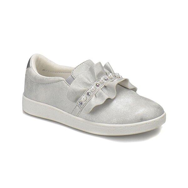 Seventeen 380691 Gümüş Kız Çocuk Slip On Ayakkabı