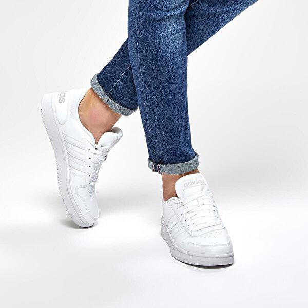 adidas HOOPS 2.0 Beyaz Erkek Sneaker