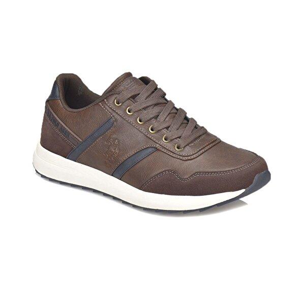 U.S. Polo Assn. SEEM Kahverengi Erkek Sneaker Ayakkabı