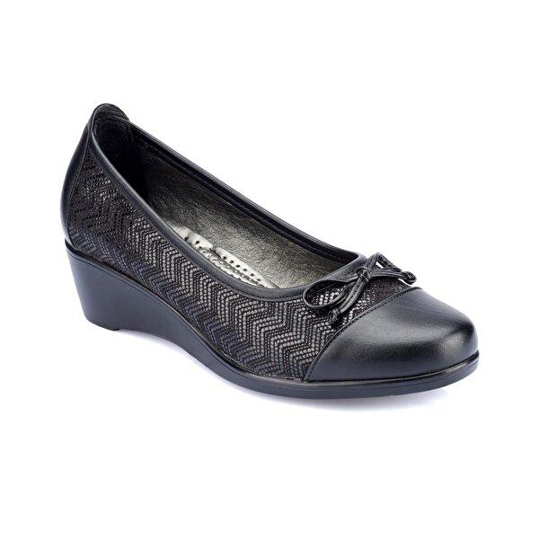 Polaris 82.150012GZ Siyah Kadın Ayakkabı