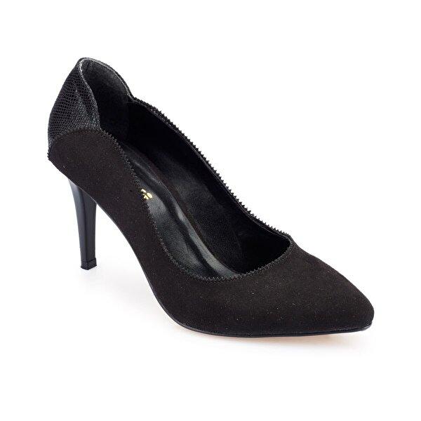 Polaris 82.312158.Z Siyah Kadın Gova Ayakkabı