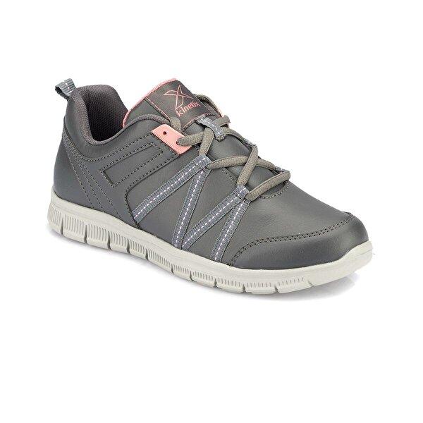 Kinetix MELINA PU Gri Kadın Koşu Ayakkabısı