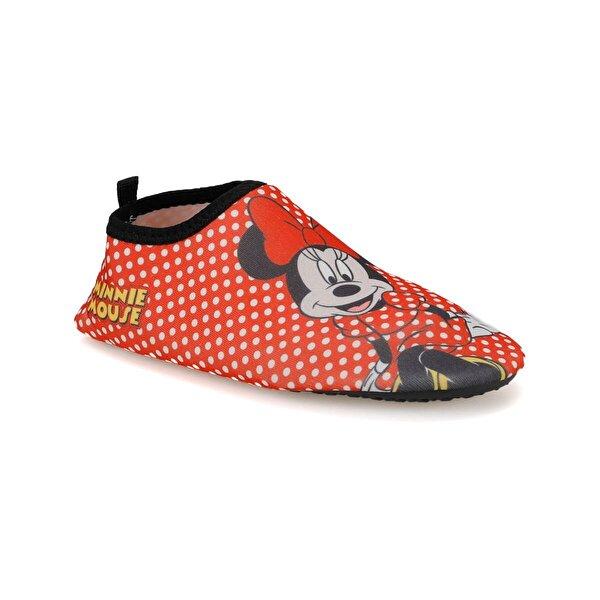 Mickey Mouse 92730 FK Kırmızı Kız Çocuk Terlik