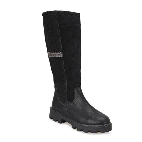Butigo 18K-053 Siyah Kadın Çizme