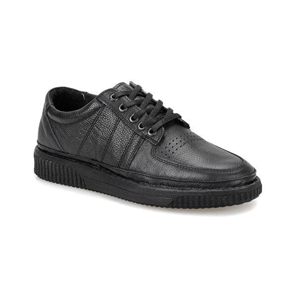 Flogart ZB-2 Siyah Erkek Modern Ayakkabı