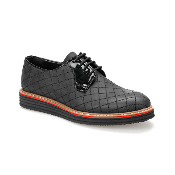 JJ-Stiller 505-Y C Siyah Erkek Ayakkabı