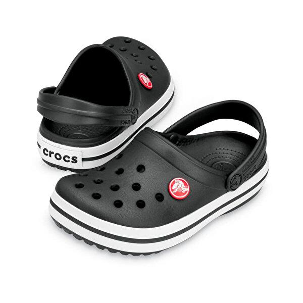 Crocs Siyah Unisex Çocuk Sabo Terlik