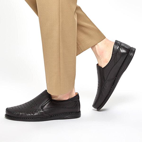Polaris 5 Nokta 91.103920.M Siyah Erkek Klasik Ayakkabı