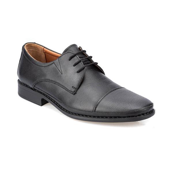 Polaris 5 Nokta 91.107250.M Siyah Erkek Klasik Ayakkabı
