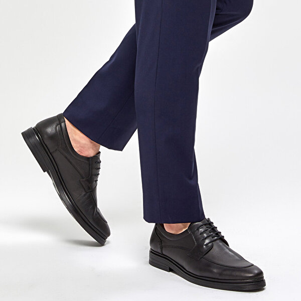 Polaris 5 Nokta 91.110445.M Siyah Erkek Comfort Ayakkabı