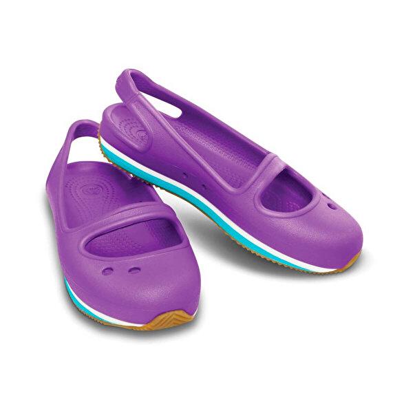 Crocs Mor Kız Çocuk Sandalet