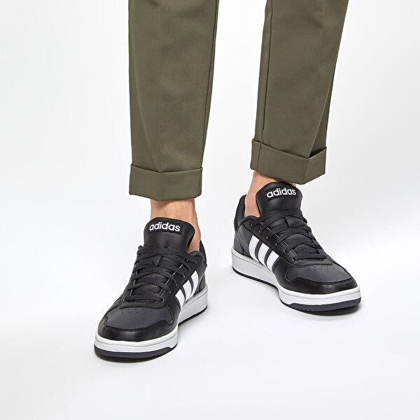 adidas HOOPS 2.0 Siyah Erkek Sneaker Ayakkabı