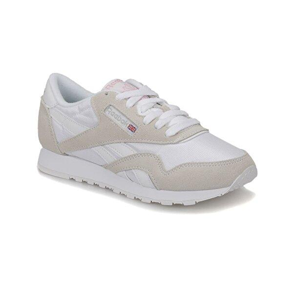 Reebok CL NYLON Beyaz Kadın Koşu Ayakkabısı