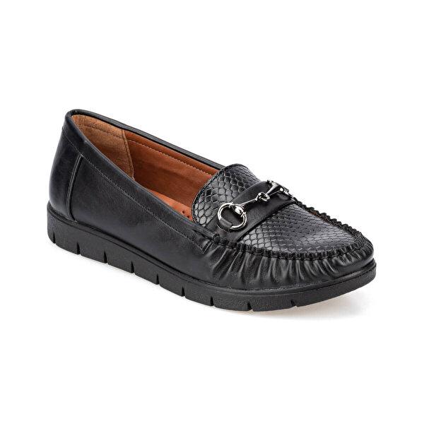 Polaris 91.157224.Z Siyah Kadın Comfort Ayakkabı