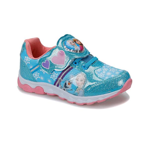 Frozen 91.HELYA-2.P Mavi Kız Çocuk Ayakkabı