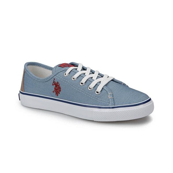 U.S. Polo Assn. TOGA Mavi Kadın Slip On Ayakkabı