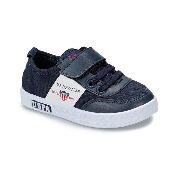 U.S. Polo Assn. CAMERON TEXTILE Lacivert Erkek Çocuk Sneaker Ayakkabı