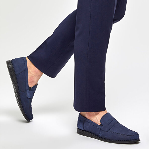 Polaris 5 Nokta 91.100558NM Lacivert Erkek Comfort Ayakkabı