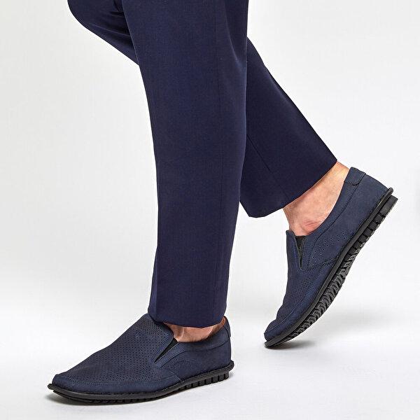 Polaris 5 Nokta 91.100538NM Lacivert Erkek Klasik Ayakkabı