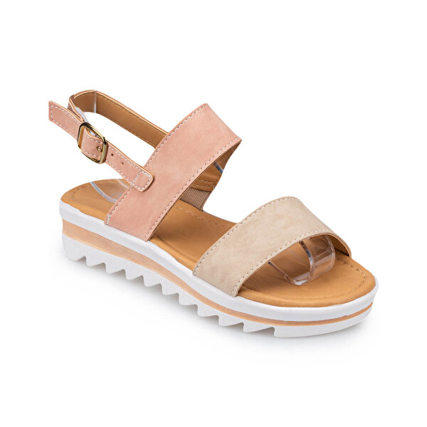 Polaris 91.511272.F Pudra Kız Çocuk Sandalet